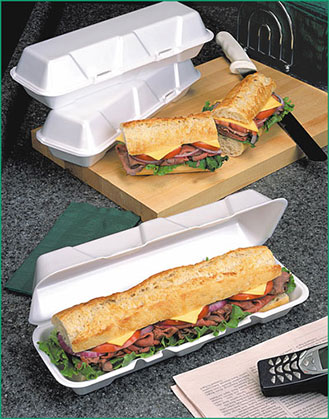 sub and hogie containers