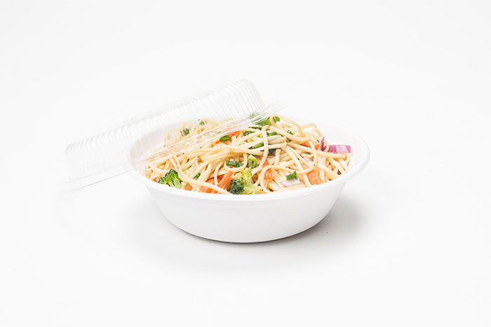 compostable bowl and lid
