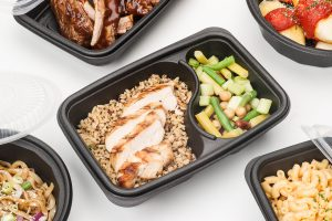 compartmented food containers