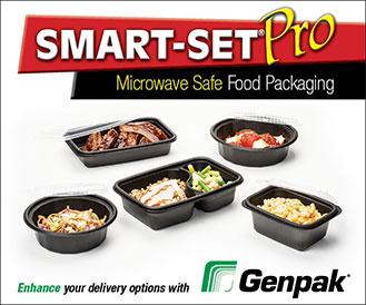 Smart-Set Pro Microwave Safe Food Packaging