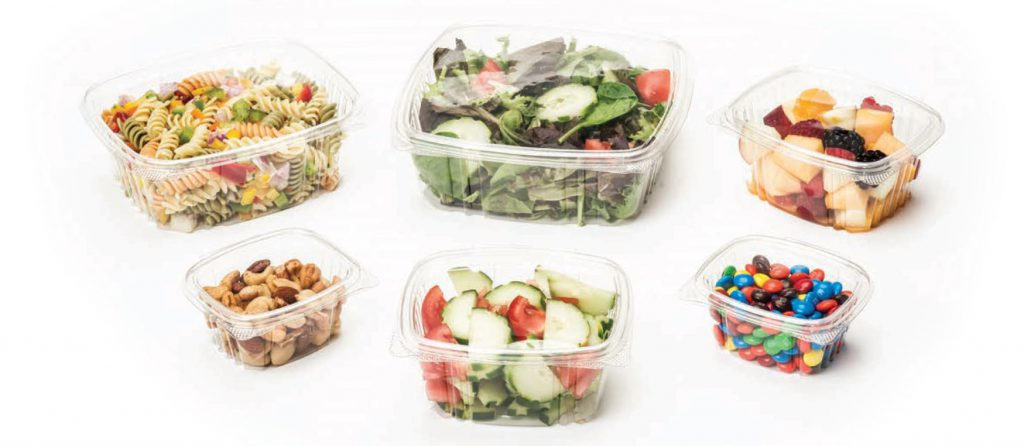 clear deli containers - APET
