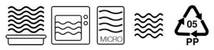 microwave safe icons