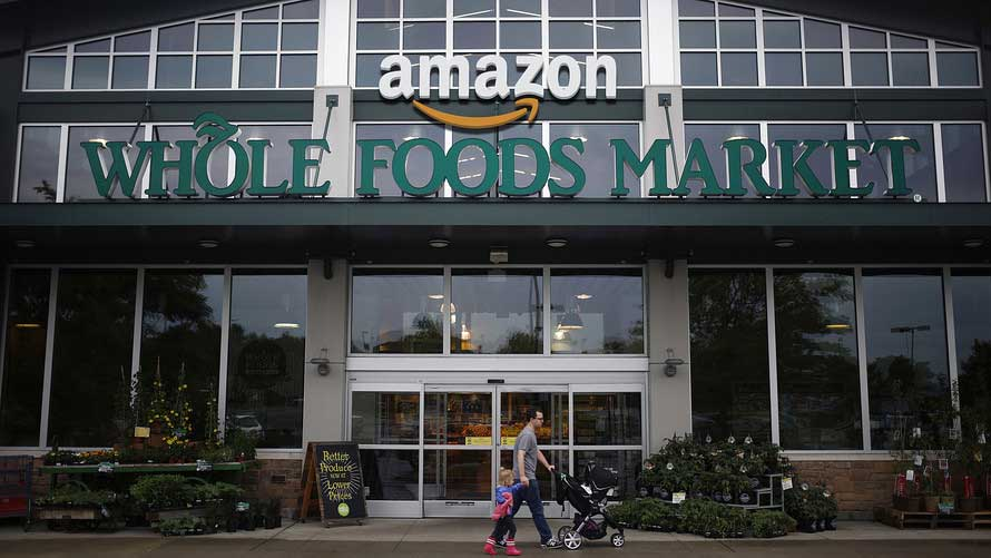 amazon Whole Foods Market storefront