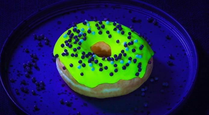 glow in the dark donut