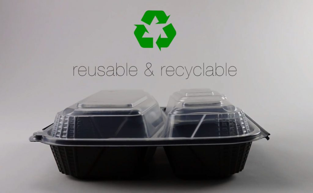 reusable and recyclable ProView Container container