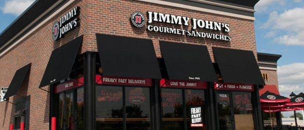 Jimmy Johns via the city menus