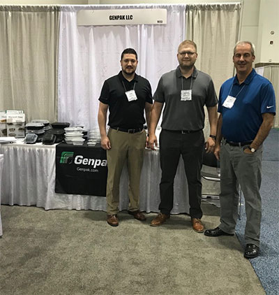 Genpak team at NACUFS