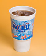 big cup for cold drinks
